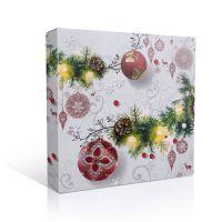Коробка под тарелку Новогодняя
