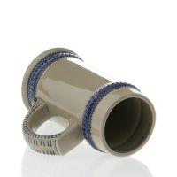 Кружка для сублимации керамика пивная, серая 620мл