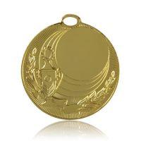 Медаль HB074 золото D50мм, D вкладыша 25мм