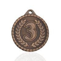 Медаль корпусная MK238c бронза D медали 32мм третье место