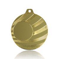 Медаль SC1602-50 золото D50мм, D вкладыша 25мм