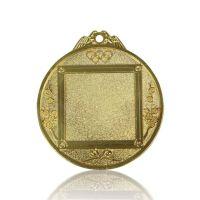Медаль Zj-M782 золото D65мм, D вкладыша 37мм, задний вкладыш 35х35мм