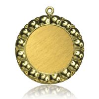Медаль Zj-M795 золото D65мм, D вкладыша 45мм