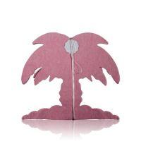 Набор гирлянд корона/звезда/пальма розовый 3 штуки (4 метра)